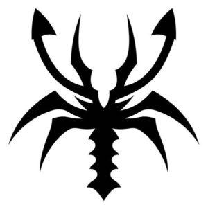 Наклейка Скорпион 6