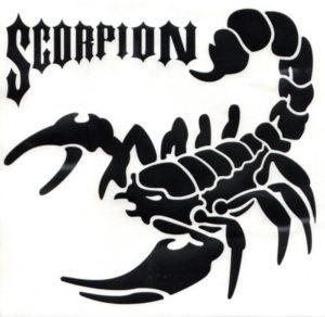 Наклейка Скорпион 8
