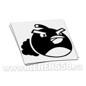 Наклейка на авто Angry Birds Bomb