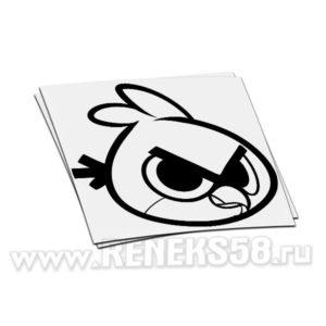 Наклейка Angry Birds Rad 2