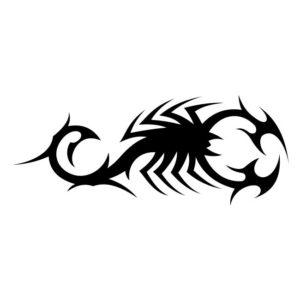 Наклейка Скорпион 7