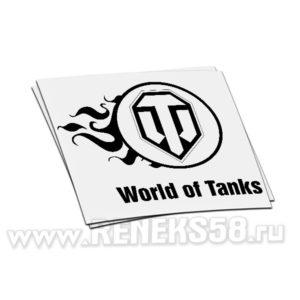 Наклейка World Of Tanks 3