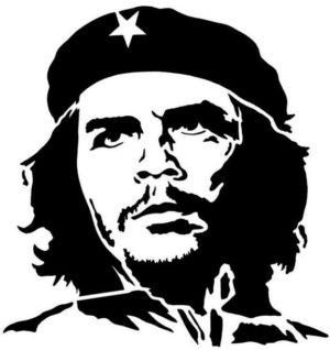 Наклейка Che Gevara 2
