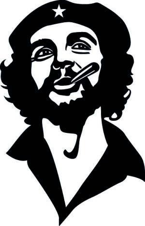 Наклейка Че Гевара 5