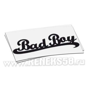 Наклейка Bad Boy