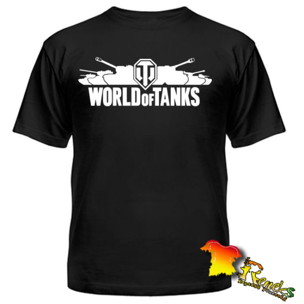 Футболка черная World of Tanks