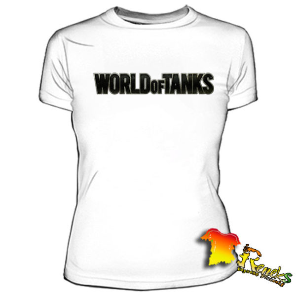 Футболка женская World of Tanks надпись