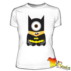 Футболка женская Миньон Batman