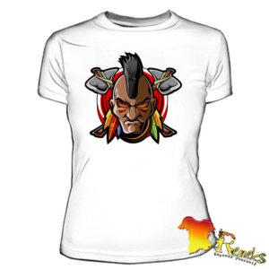 Женская футболка с Индейцем