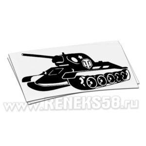 Наклейка на авто World of Tanks 5