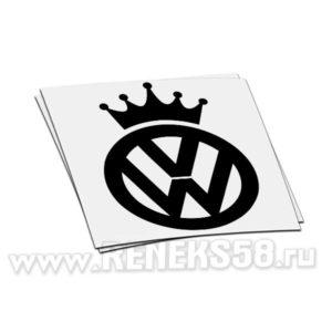 Наклейка Volkswagen корона