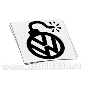 Наклейка Volkswagen динамит