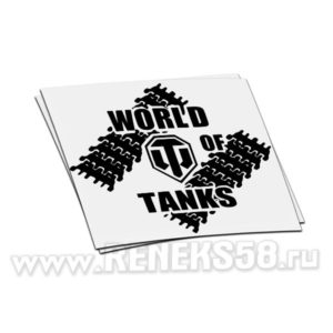 Наклейка World of Tanks 7