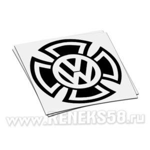 Наклейка Volkswagen крест