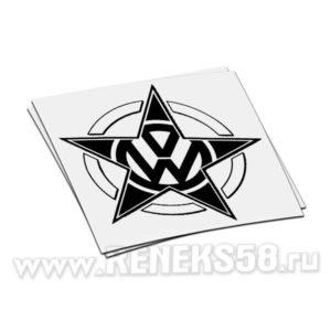 Наклейка Volkswagen 10