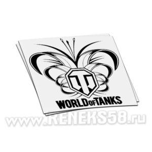 Наклейка World of Tanks 9