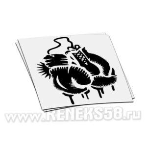 Виниловая наклейка Боксерские перчатки