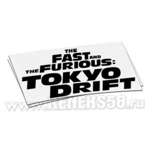 Наклейка на авто Токийский дрифт