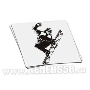 Наклейка Snowboardist вар.7