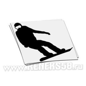 Наклейка Snowboardist вар.8