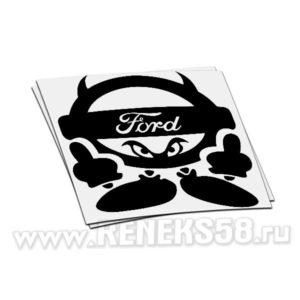 Наклейка Ford Devil