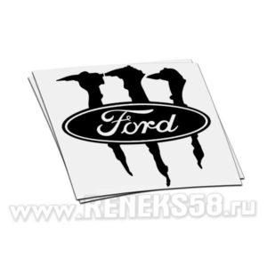 Наклейка Ford monster