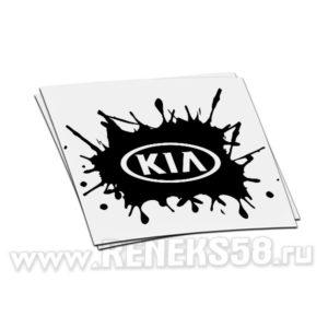 Наклейка Kia клякса