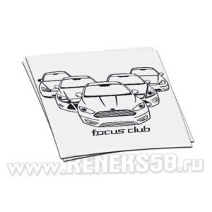 Наклейка на авто Focus Club