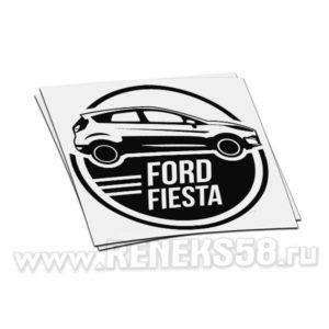 Наклейка на авто Ford Fiesta