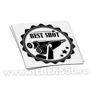 Наклейка Хороший выстрел