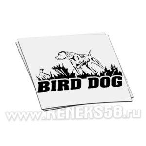 Наклейка bird dog