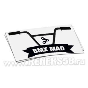 Наклейка BMX Mad