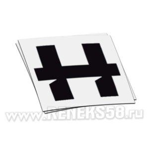 Наклейка hellride лого
