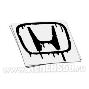 Наклейка honda логотип плавиться