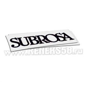 Наклейка subrosa