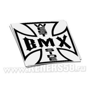 Наклейка West BMX Side