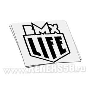 Наклейка bmx life