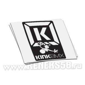 Наклейка kinkbmx logo