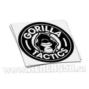 Наклейка Gorilla tactics