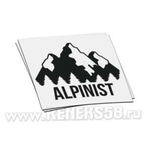 Наклейка Alpinist