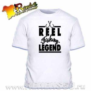Футболка Рыболовная легенда