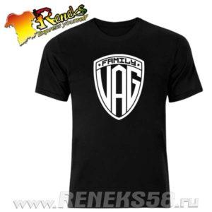 Черная футболка Family Vag