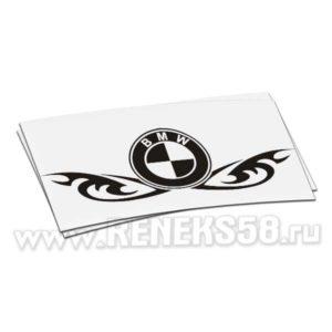 Наклейка BMW глаза