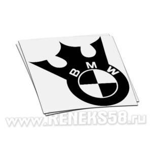 Наклейка BMW с короной