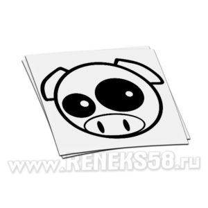 Наклейка Subaru pig