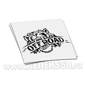 Наклейка Тигр offroad
