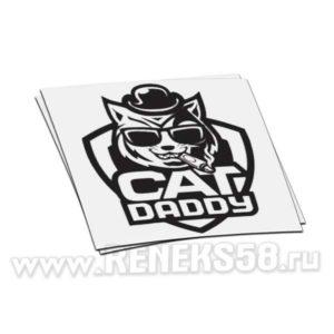 Наклейка Cat daddy