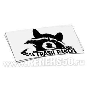 Наклейка Енот trash panda