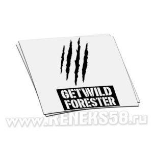 Наклейка Getwild forester