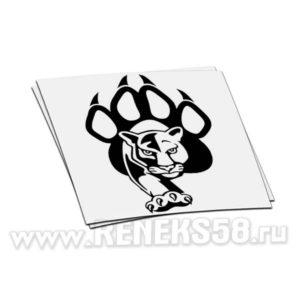 Наклейка Пантера с лапой